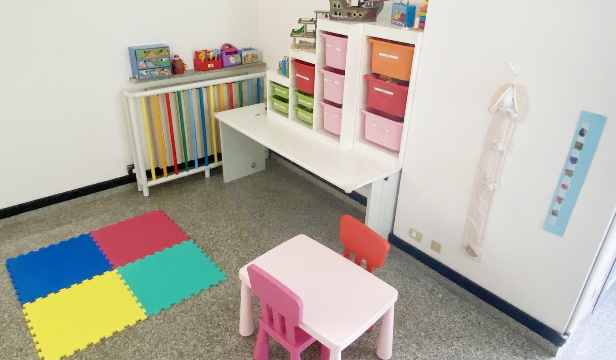 centro per l'autismo spazi