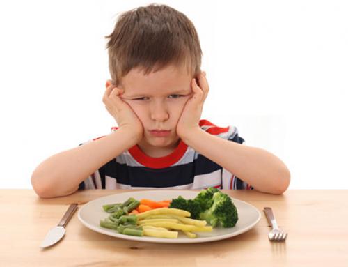 Mio figlio non mangia: cosa fare?
